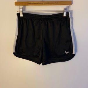 Justice Girls Black mesh shorts size 16